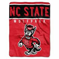 North Carolina State Wolfpack Basic Plush Raschel Blanket