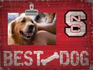 North Carolina State Wolfpack Best Dog Clip Frame