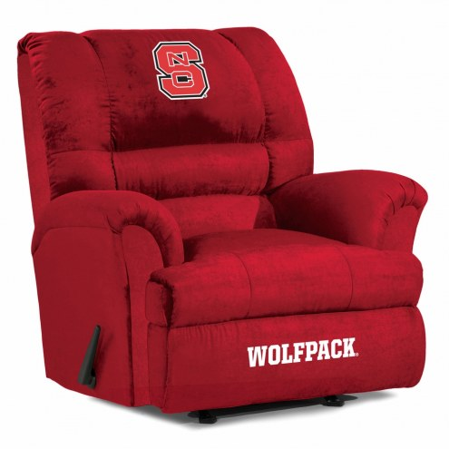 North Carolina State Wolfpack Big Daddy Recliner