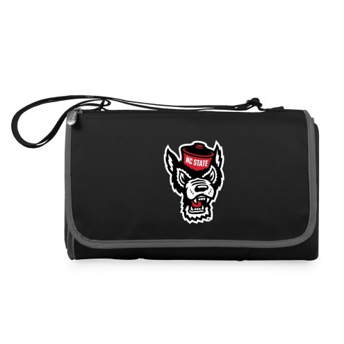 North Carolina State Wolfpack Black Blanket Tote