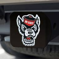North Carolina State Wolfpack Black Color Hitch Cover