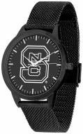 North Carolina State Wolfpack Black Dial Mesh Statement Watch