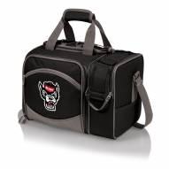 North Carolina State Wolfpack Black Malibu Picnic Pack
