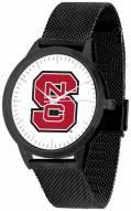 North Carolina State Wolfpack Black Mesh Statement Watch