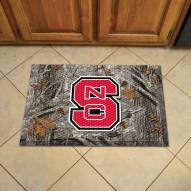 North Carolina State Wolfpack Camo Scraper Door Mat