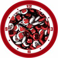 North Carolina State Wolfpack Candy Wall Clock