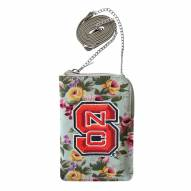 North Carolina State Wolfpack Canvas Floral Smart Purse