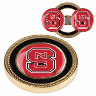 North Carolina State Wolfpack Challenge Coin with 2 Ball Markers