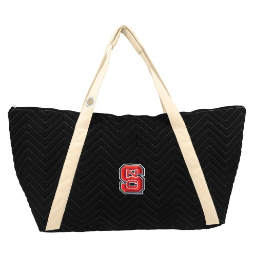 North Carolina State Wolfpack Chevron Stitch Weekender Bag