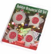North Carolina State Wolfpack Christmas Ornament Gift Set