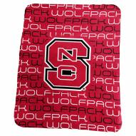 North Carolina State Wolfpack Classic Fleece Blanket