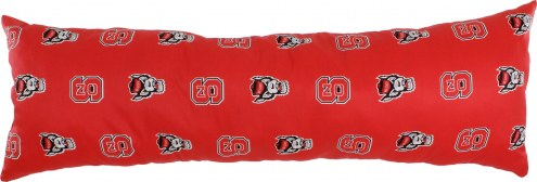 "North Carolina State Wolfpack 20"" x 60"" Body Pillow"