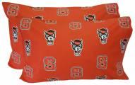 North Carolina State Wolfpack Printed Pillowcase Set