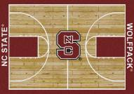 North Carolina State Wolfpack College Home Court Area Rug