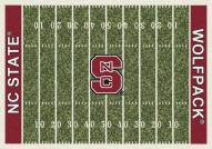 North Carolina State Wolfpack College Home Field Area Rug
