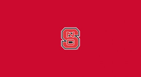 North Carolina State Wolfpack College Team Logo Billiard Cloth
