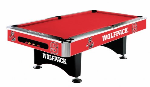 North Carolina State Wolfpack College Pool Table
