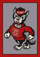 North Carolina State Wolfpack College Team Spirit Area Rug