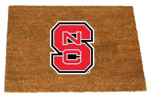 North Carolina State Wolfpack Colored Logo Door Mat