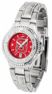 North Carolina State Wolfpack Competitor Steel AnoChrome Women's Watch