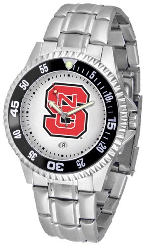 North Carolina State Wolfpack Competitor Steel Men's Watch