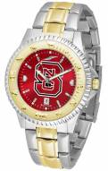 North Carolina State Wolfpack Competitor Two-Tone AnoChrome Men's Watch