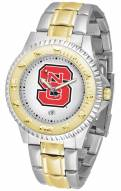 North Carolina State Wolfpack Competitor Two-Tone Men's Watch