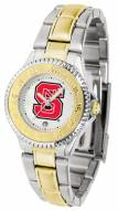 North Carolina State Wolfpack Competitor Two-Tone Women's Watch