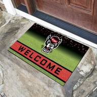 North Carolina State Wolfpack Crumb Rubber Door Mat