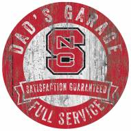 North Carolina State Wolfpack Dad's Garage Sign