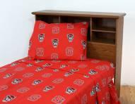 North Carolina State Wolfpack Dark Bed Sheets