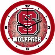 North Carolina State Wolfpack Dimension Wall Clock