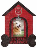North Carolina State Wolfpack Dog Bone House Clip Frame