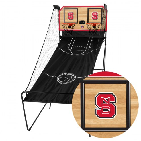 North Carolina State Wolfpack Double Shootout Basketball Game