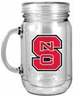 North Carolina State Wolfpack Double Walled Mason Jar