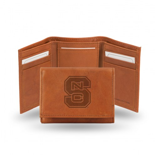 North Carolina State Wolfpack Embossed Tri-Fold Wallet
