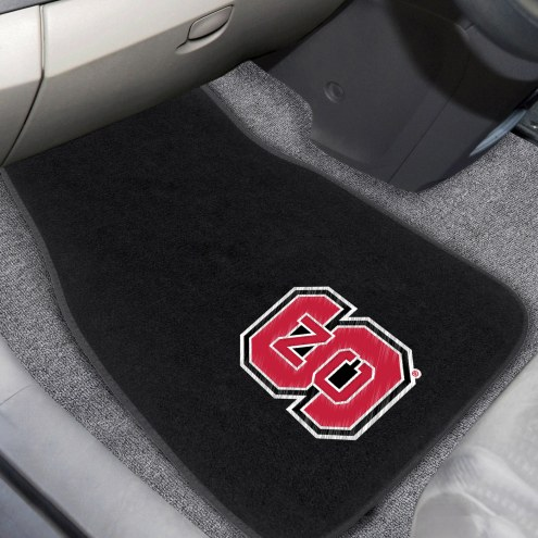North Carolina State Wolfpack Embroidered Car Mats