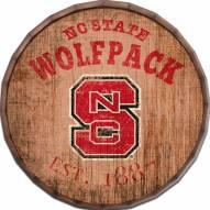 """North Carolina State Wolfpack Established Date 24"""" Barrel Top"""