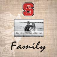 North Carolina State Wolfpack Family Picture Frame