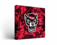 North Carolina State Wolfpack Fight Song Canvas Wall Art