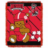 North Carolina State Wolfpack Fullback Baby Blanket