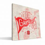 North Carolina State Wolfpack Gameday Vibes Canvas Print