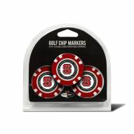 North Carolina State Wolfpack Golf Chip Ball Markers