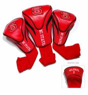 North Carolina State Wolfpack Golf Headcovers - 3 Pack