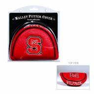 North Carolina State Wolfpack Golf Mallet Putter Cover