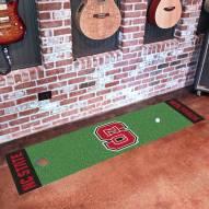 North Carolina State Wolfpack Golf Putting Green Mat