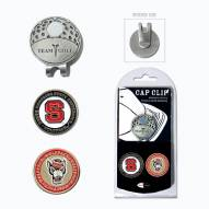 North Carolina State Wolfpack Hat Clip & Marker Set