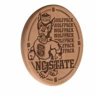 North Carolina State Wolfpack Laser Engraved Wood Sign