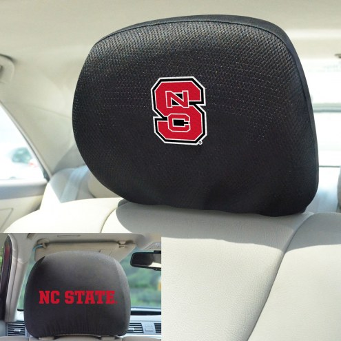 North Carolina State Wolfpack Headrest Covers