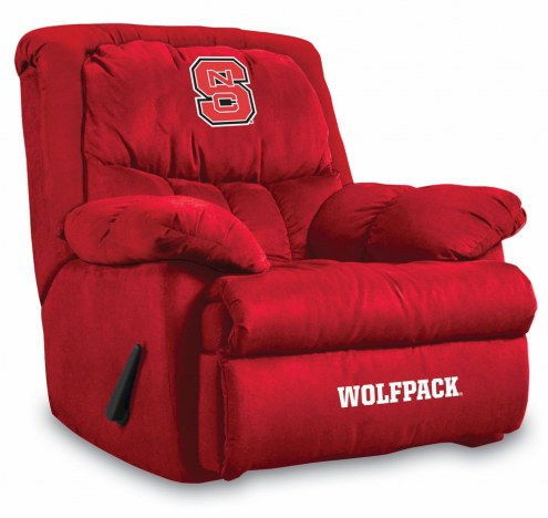 North Carolina State Wolfpack Home Team Recliner